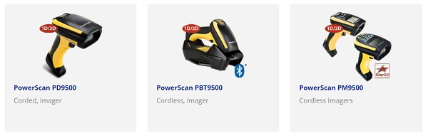 Datalogics PD9500 Series Industrial Handheld Scanner